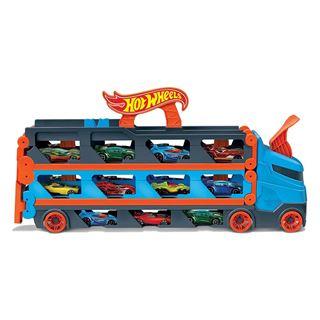 Εικόνα της Mattel Hot Wheels Νταλίκες - Πίστα 2 Σε 1 Αγώνων Με 3 Αυτοκινητάκια Κλίμακας 1:64 GVG37