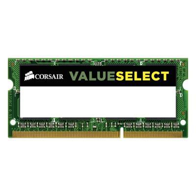 Εικόνα της Ram Corsair Value Select 4GB DDR3 1333MHz CL9 SODIMM CMSO4GX3M1C1333C9