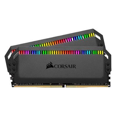 Εικόνα της Ram Corsair Dominator Platinum RGB 16GB (2 x 8GB) DDR4 4000MHz CL19 Black CMT16GX4M2K4000C19