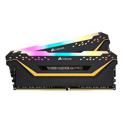 Εικόνα της Ram Corsair Vengeance RGB Pro 64GB (2 x 32GB) DDR4 3200MHz CL16 Black CMW64GX4M2E3200C16
