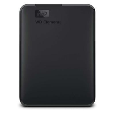 Εικόνα της Εξωτερικός Σκληρός Δίσκος Western Digital 2.5'' Elements 5TB Black WDBU6Y0050BBK-WESN