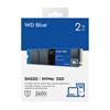 Εικόνα της Δίσκος SSD Western Digital Blue SN550 M2 2TB Gen3 WDS200T2B0C