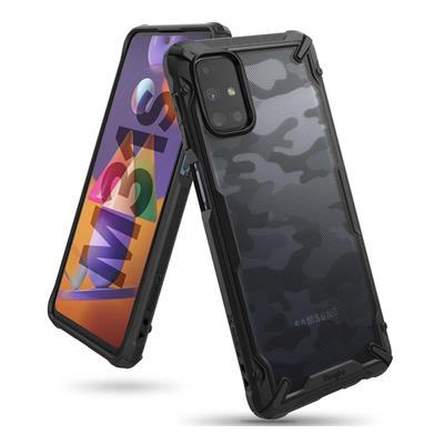 Εικόνα της Θήκη Ringke Fusion X Camo Black Galaxy M31s XDSG0042