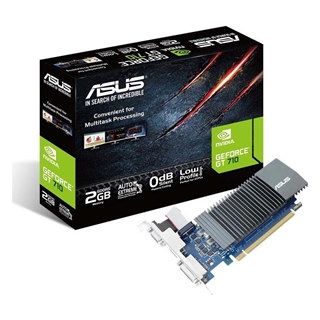 Εικόνα της Asus GeForce GT 710 2GB SL GDDR5 w Low Profile Bracket 90YV0AL3-M0NA00