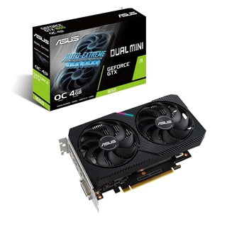 Εικόνα της Asus GeForce GTX 1650 4GB GDDR6 Dual Mini OC 90YV0EH6-M0NA00