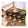 Εικόνα της Ηλεκτρική Ψησταριά Cecotec Raclette Cheese & Grill 8200 Wood Black CEC-03090