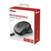 Εικόνα της Ποντίκι Trust Themo Wireless Black 23340