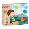 Εικόνα της AS Company - Magnet Box, Εκπαιδευτικό Παιχνίδι  Ψαράκια 12 Μαγνήτες 1029-64040