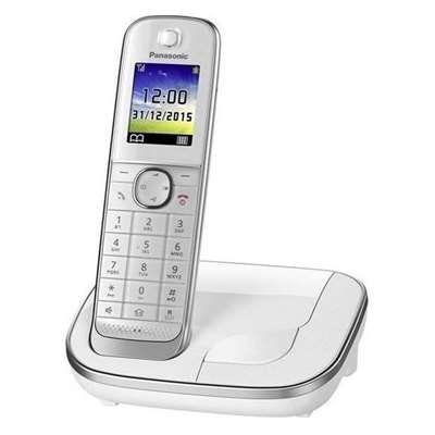 Εικόνα της Ασύρματο Τηλέφωνο Panasonic KX-TGJ310GW White
