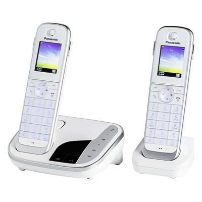 Εικόνα της Ασύρματο Τηλέφωνο Panasonic KX-TGJ322GW White