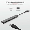 Εικόνα της USB Hub Trust Halyx Mini 4-Ports USB 2.0 23786