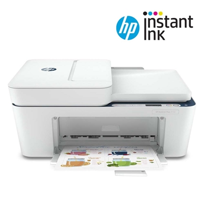 Εικόνα της Πολυμηχάνημα Inkjet HP Deskjet Plus 4130 AiO 7FS77B Instant Ink Ready