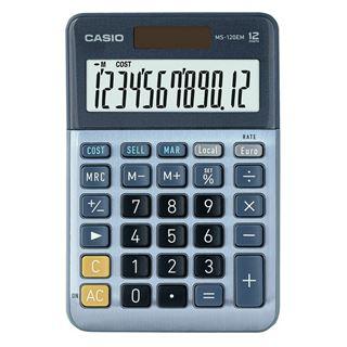 Εικόνα της Αριθμομηχανή 12 Ψηφίων Casio MS-120EM