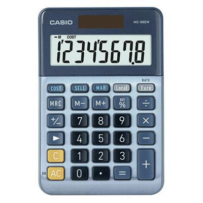 Εικόνα της Αριθμομηχανή 8 Ψηφίων Casio MS-88EM
