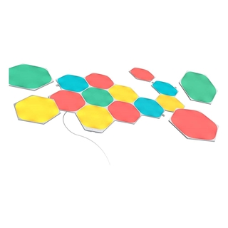 Εικόνα της Nanoleaf Shapes: Hexagons Starter Kit 15-pack NL42-6002HX-15PK