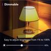 Εικόνα της Smart Bulb NiteBird WB2 E27 8W White Dimmable BG-8-1149