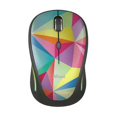 Εικόνα της Ποντίκι Trust Yvi FX Wireless Geometrics 22337