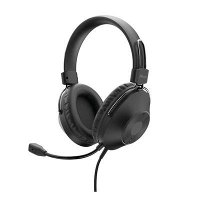 Εικόνα της Headset Trust Ozo USB Black 24132