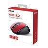Εικόνα της Ποντίκι Trust Zaya Wireless Red 24019