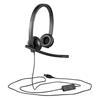 Εικόνα της Headset Logitech H570e Stereo Black 981-000575