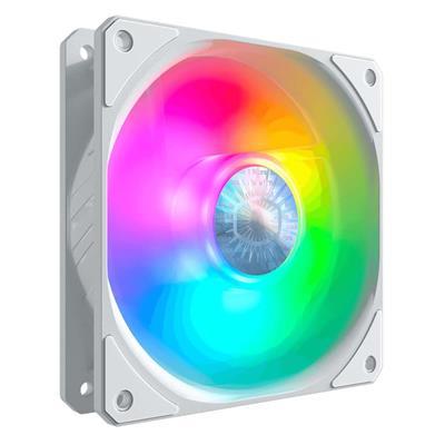 Εικόνα της Case Fan Cooler Master SickleFlow 120mm ARGB White Edition MFX-B2DW-18NPA-R1