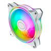Εικόνα της Case Fan Cooler Master MasterFan MF120 Halo ARGB White Edition MFL-B2DW-18NPA-R1