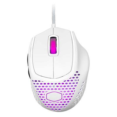 Εικόνα της Ποντίκι Cooler Master MM720 Ultralight RGB Matte White MM-720-WWOL1