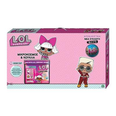 Εικόνα της Giochi Preziosi - L.O.L. Surprise Μικρόκοσμος και Κούκλα LLUF4000