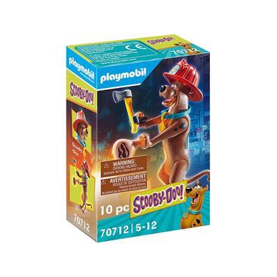 """Εικόνα της Playmobil Scooby Doo -  Συλλεκτική Φιγούρα Scooby """"Πυροσβέστης"""" 70712"""