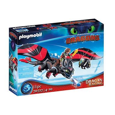 Εικόνα της Playmobil Dragons - Dreamworks Racing, Ψάρης Και Φαφούτης 70727