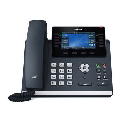 Εικόνα της Ενσύρματο Τηλέφωνο Yealink T46U SIP Ultra-Elegant Gigabit IP Phone