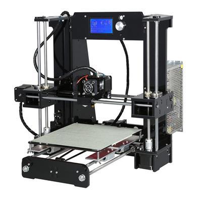 Εικόνα της Real 3D Printer A6 Prusa I3 Pro DIY kit Black PRUSABASEDKIT