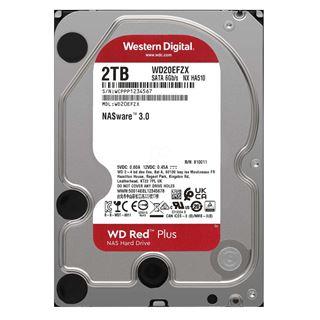 """Εικόνα της Εσωτερικός Σκληρός Δίσκος NAS Western Digital Red Plus 2TB 3.5"""" SATA ΙΙΙ 128MB 5400rpm WD20EFZX"""