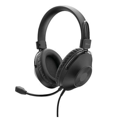 Εικόνα της Headset Trust HS-250 USB Black 24185