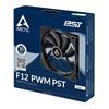 Εικόνα της Case Fan Arctic F12 PWM 120mm PST ACFAN00200A
