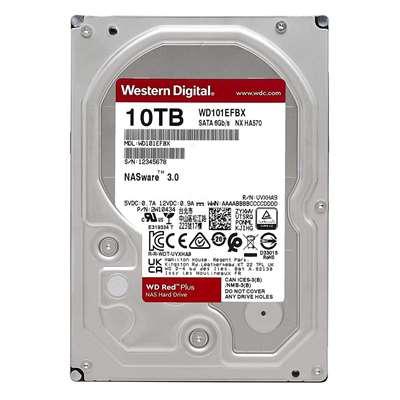 """Εικόνα της Εσωτερικός Σκληρός Δίσκος Western Digital Red Plus 10TB 3.5"""" NAS WD101EFBX"""