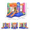 Εικόνα της Outsunny - Παιδικό Φουσκωτό Σπίτι, Τραμπολίνο με Τσουλήθρα και Μπασκέτα 342-021V90