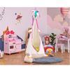 Εικόνα της Outsunny - Παιδική Κρεμαστή Κούνια, Φωλιά Μονόκερος με Μαξιλάρι 344-029