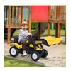 Εικόνα της HomCom - Παιδικό Τρακτέρ με Εκσκαφέα 341-018