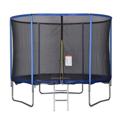 Εικόνα της HomCom - Τραμπολίνο με Προστατευτικό Δίχτυ και Σκάλα A71-015V03