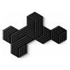 Εικόνα της Elgato Wave Panels Starter Kit (6-Pack) Black 10AAJ9901