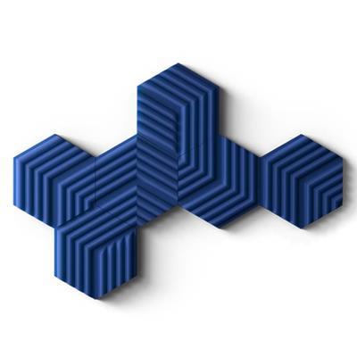 Εικόνα της Elgato Wave Panels Starter Kit (6-Pack) Blue 10AAL9901