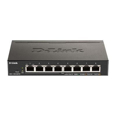 Εικόνα της Switch D-Link DGS-1100-08PV2 8 ports PoE Smart Managed 10/100/1000Mbps