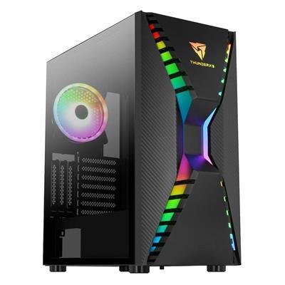 Εικόνα της Aerocool Cronus ARGB Tempered Glass Black ACCM-PB23013.11