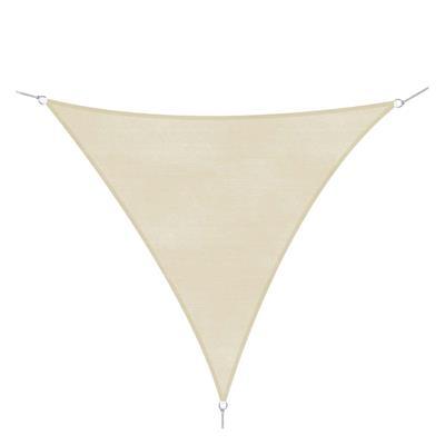 Εικόνα της Outsunny Τριγωνικό Πανί Σκίασης 500 x 500 x 500 cm Κρεμ 01-0623