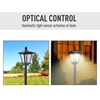 Εικόνα της Outsunny Ηλιακό LED Φανάρι Κήπου-Κολώνα 160 cm 842-108