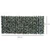 Εικόνα της Outsunny Φράκτης με Πλέγμα Φυλλωσιάς Anti-UV 240 x 100 cm 844-199
