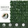 Εικόνα της Outsunny Φράκτης με Πλέγμα Φυλλωσιάς Anti-UV 300 x 100 cm 844-200