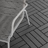 Εικόνα της Outsunny Πλαστικά πλακάκια κήπου-μπαλκονιού 9 Τεμάχια Black 844-278BK