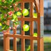 Εικόνα της Outsunny Ξύλινη Πέργκολα Εισόδου Για Κήπο 845-457